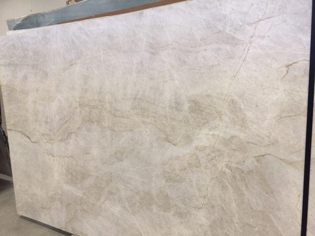 Leathered Quartzite Perla Venata Barn Kitchen Quartzite