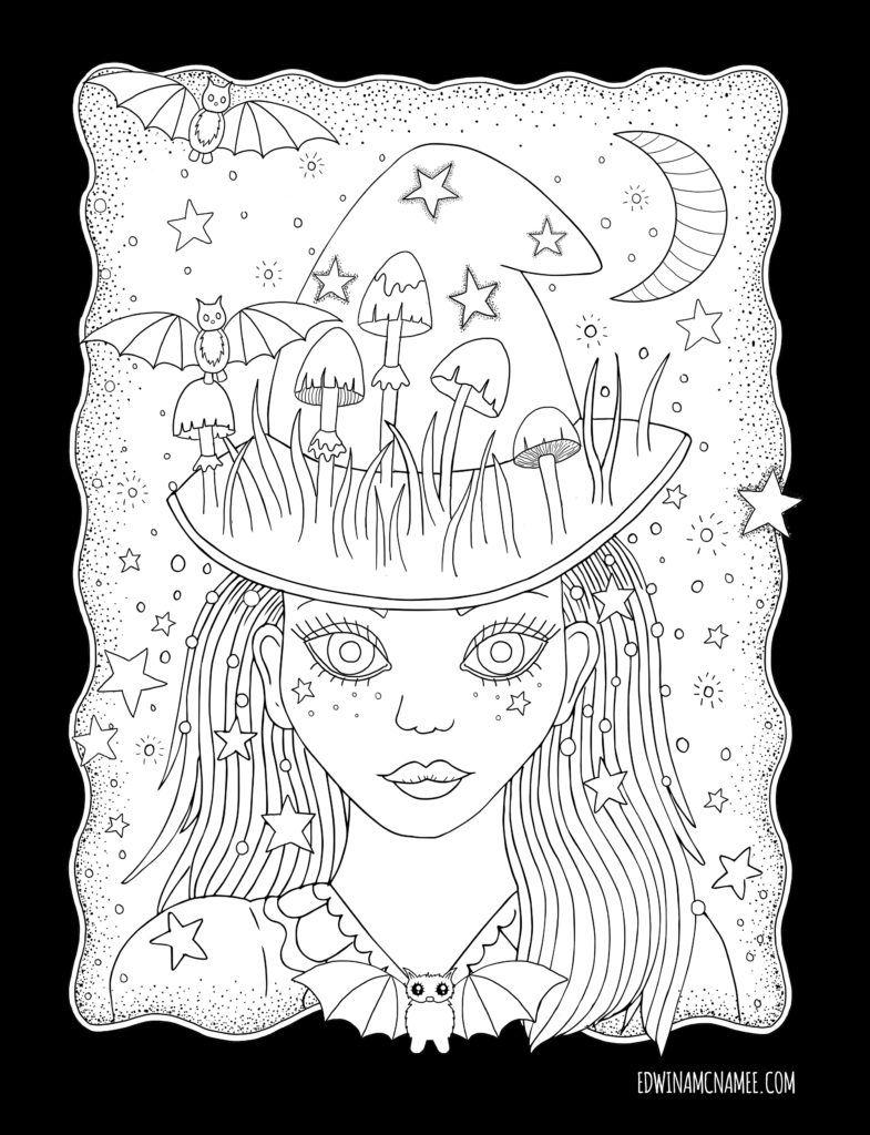 Autumn Magic – Edwina Mc namee | Colorir | Pinterest | Comprar
