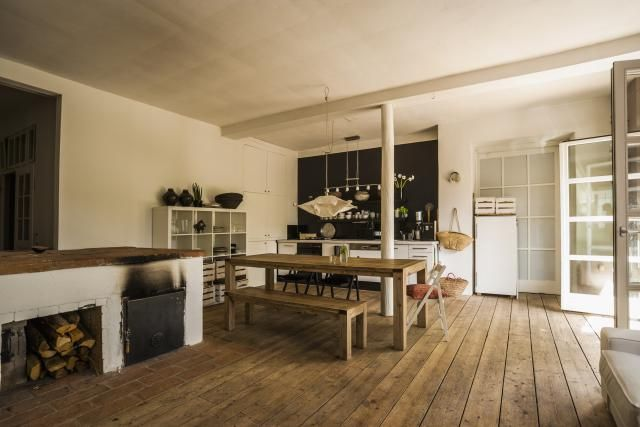 Cozy, Warm and Rustic Country Kitchen Ideas For the
