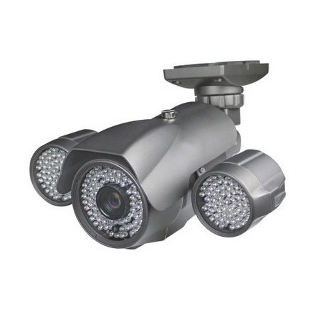 Buy night vision security camera a Truly outdoor IR camera with day/night mode through LDR. Cable management system and IP 66 rating makes it a class apart.