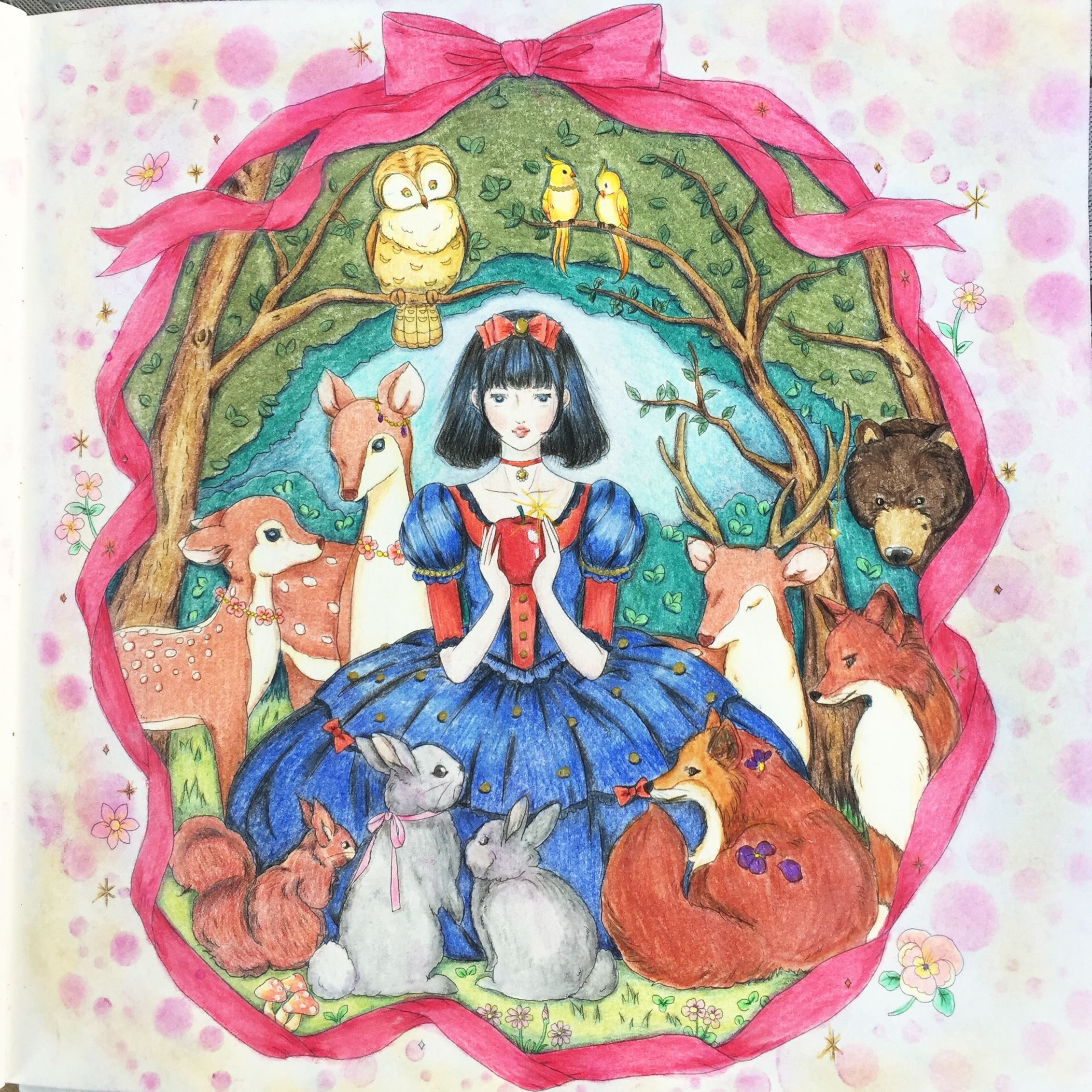Colors Make You Happy Miki Takei Coloring Book
