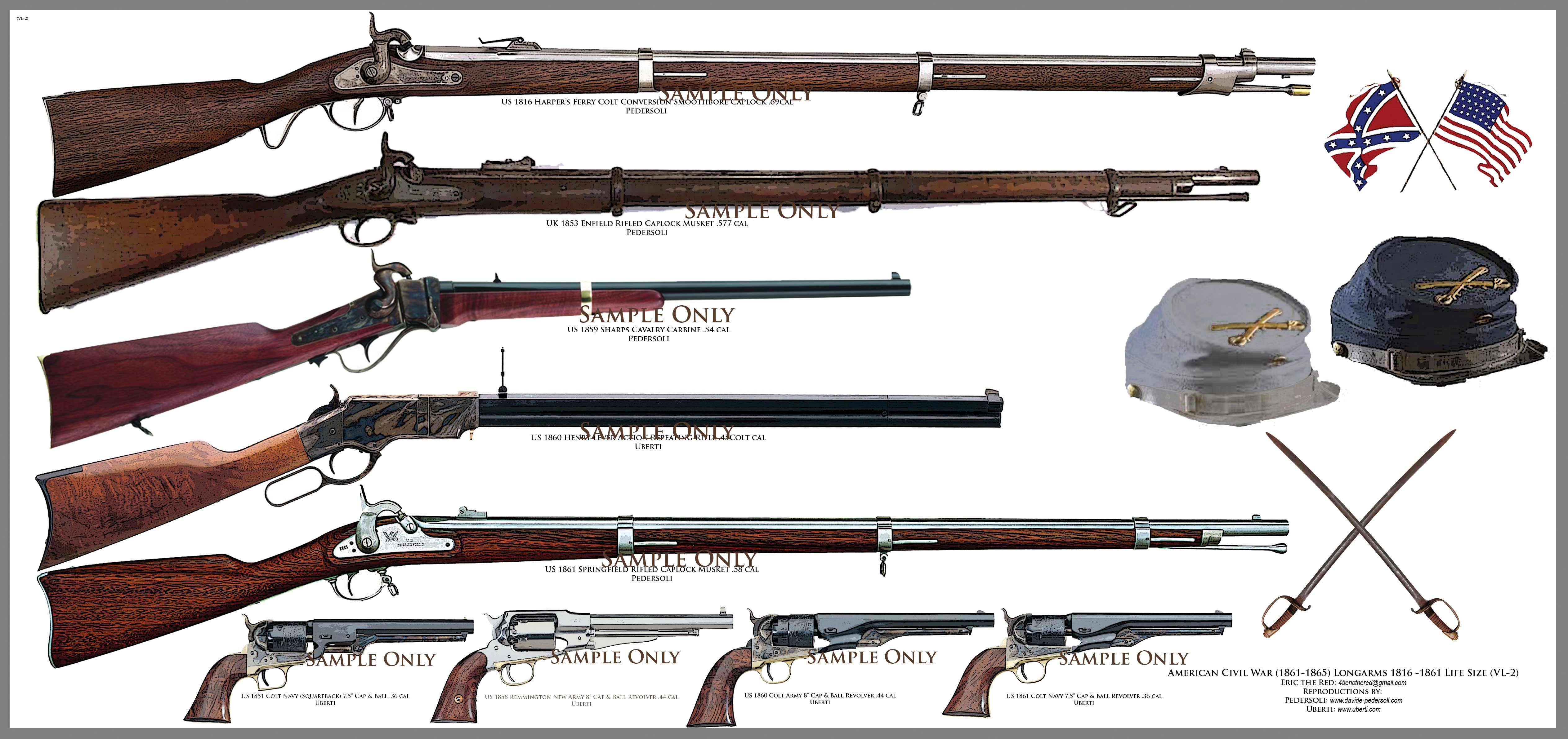 Images For > Civil War Rifles And - 842.1KB