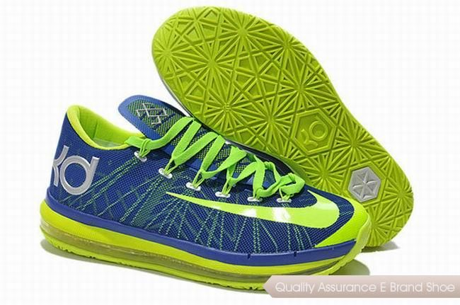 timeless design 4c235 3c92a Discover the Nike KD 6 VI Elite Royal Blue Neon Green For Sale Authentic  collection at Pumaslides. Shop Nike KD 6 VI Elite Royal Blue Neon Green For  Sale ...