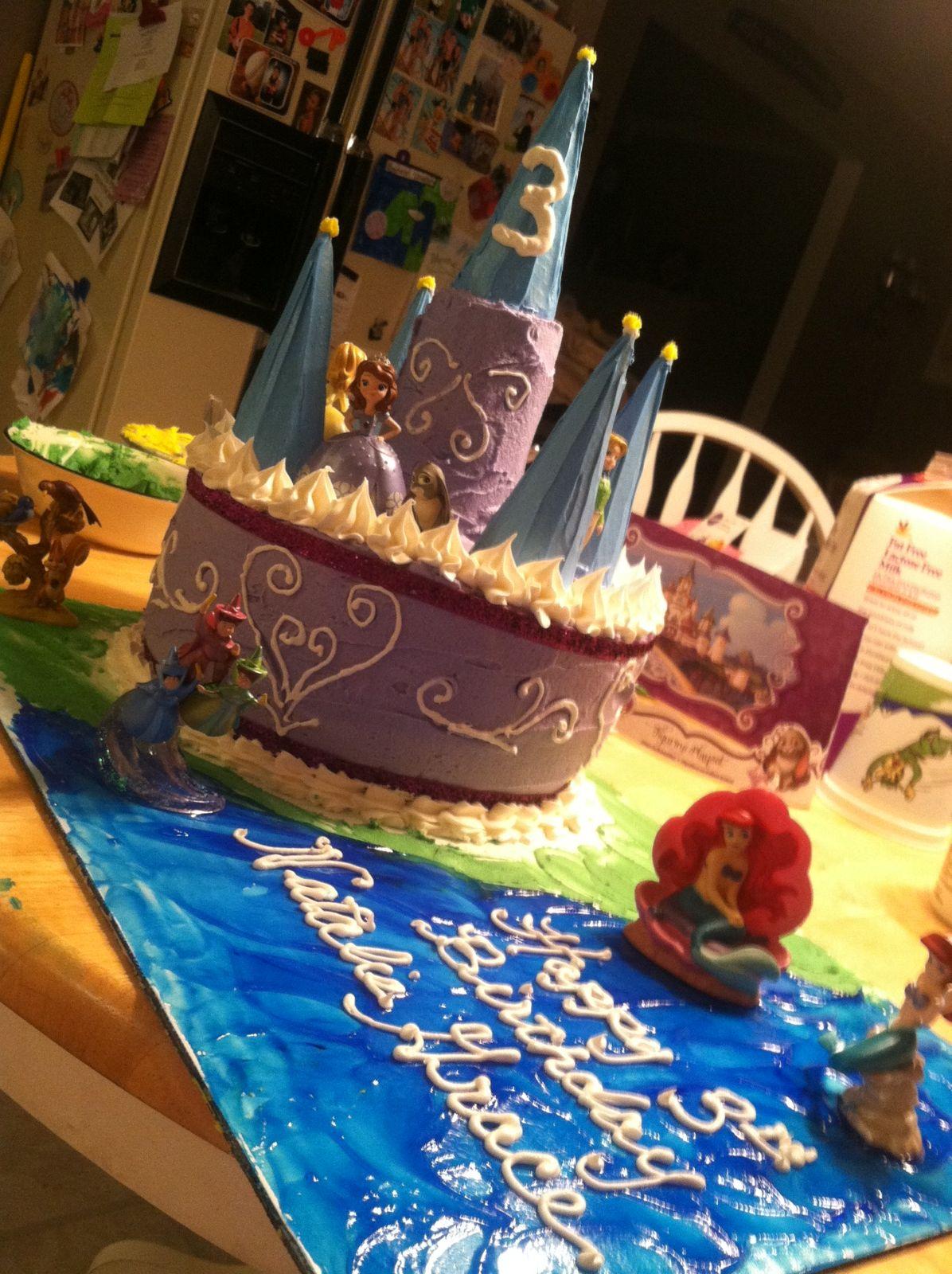 My sisters sofia the first cake sofia the first cake