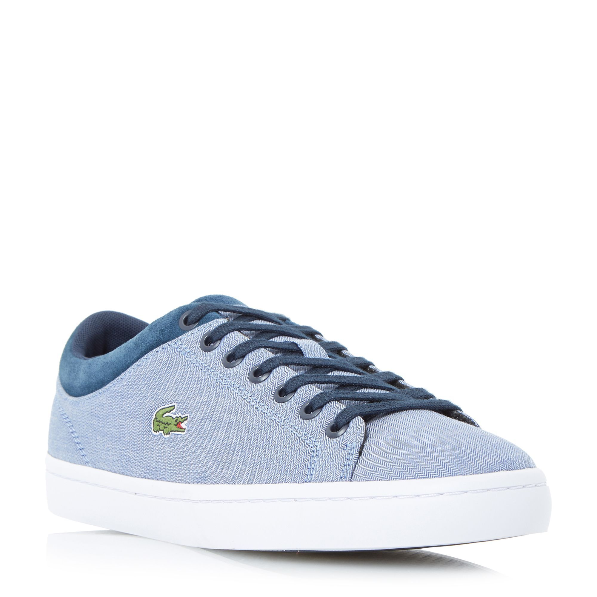 Lacoste Straightset SPT Lace Up Trainer, Navy