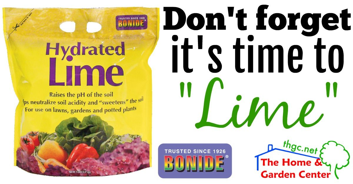 Hydrated Lime Quickly Raises Soil Ph Neutralizes Soil Acidity And