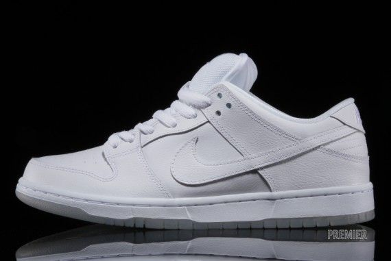 Nike SB Dunk Low - White - Ice Sole - SneakerNews.com | shoes ...