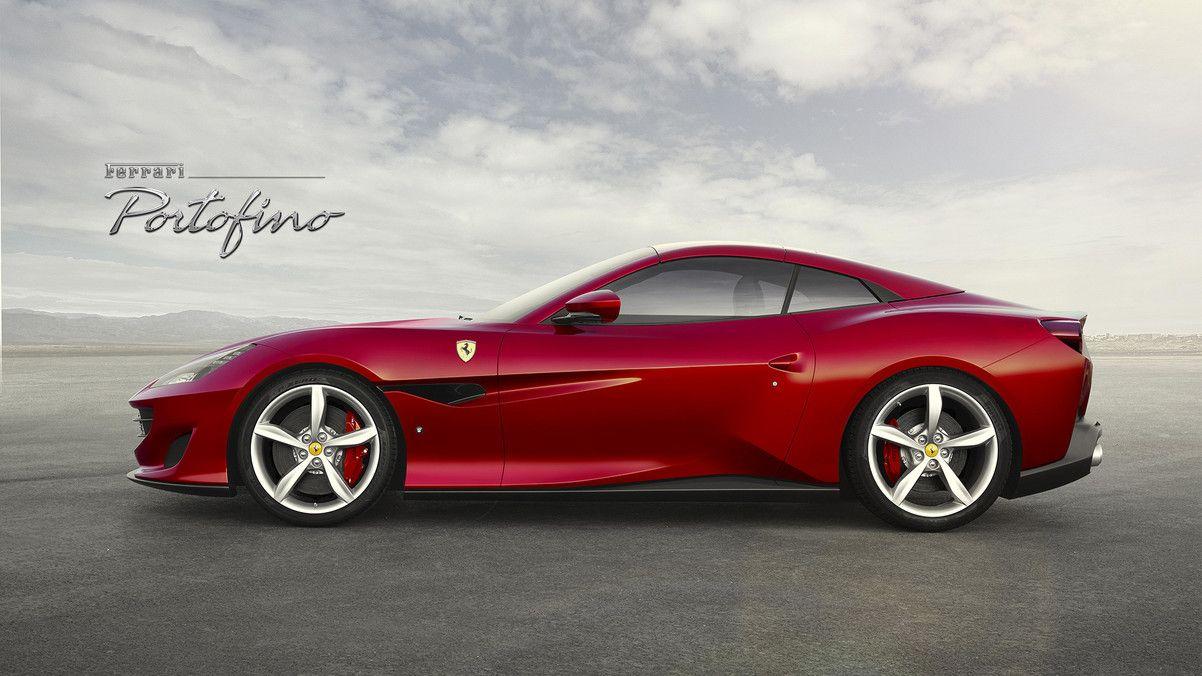 Ferrari Revela A Portofino Sucessora Da California T Ferrari