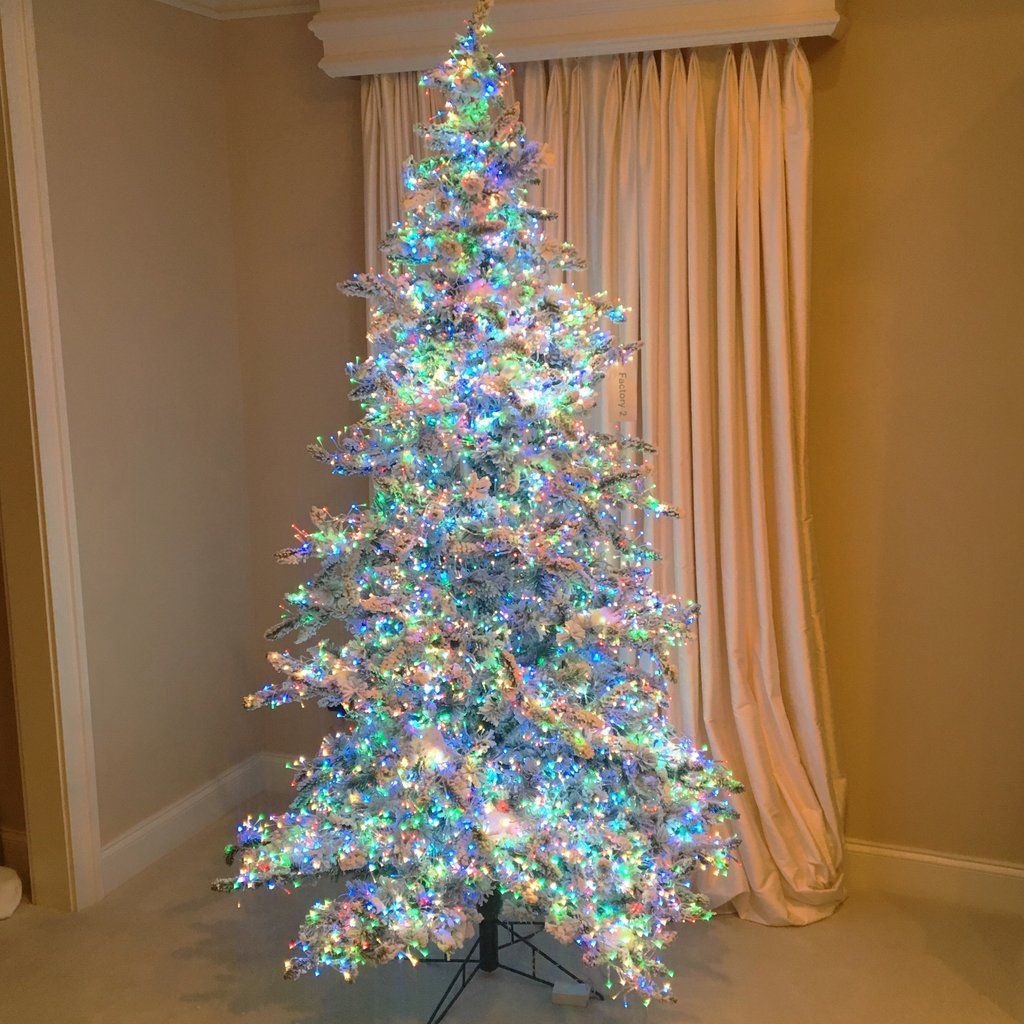 Pin By Jacqlyn Garcia On Everything Holiday Colorful Christmas Tree Pre Lit Christmas Tree Peacock Christmas Tree