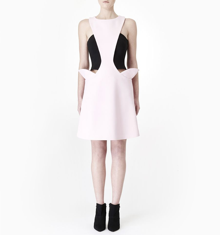 Hakama Whisper Dress Pink | Sarah Bond | NOT JUST A LABEL