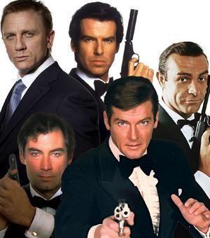 The Many Faces Of James Bond James Bond Actors James Bond
