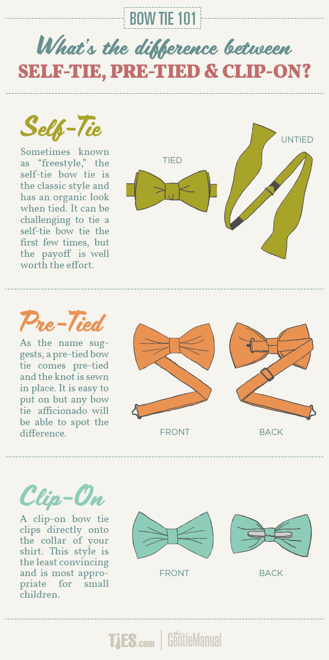 Bow Ties 101: An Introduction to Bow Ties | Men\'s style | Pinterest ...