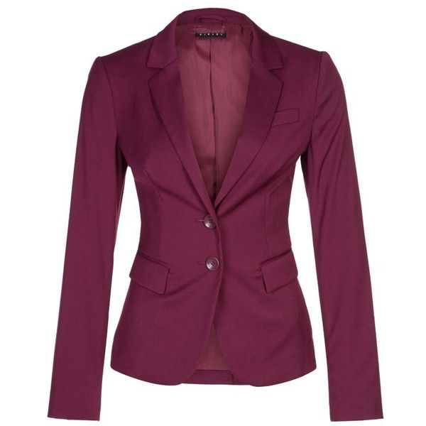 Sisley Blazer bordeaux and other apparel, accessories and trends. Browse and shop related looks.