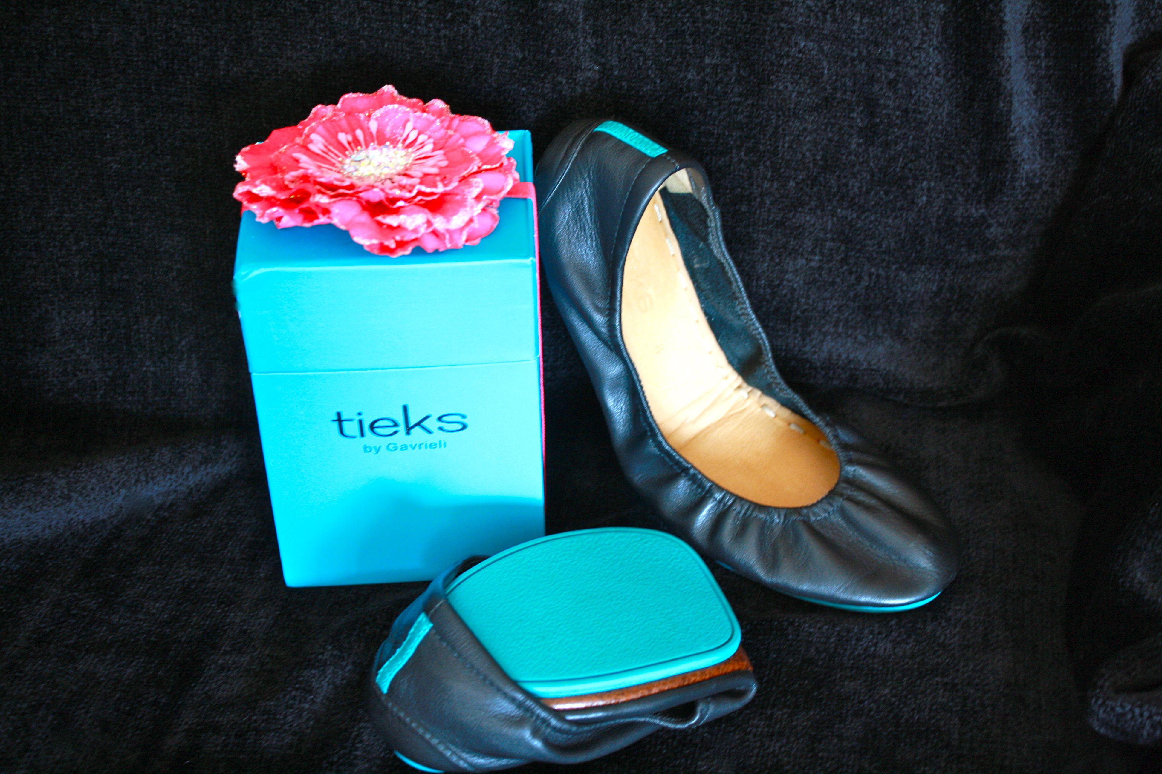 Tieks!  My favorite ballet flat, everyone should own a pair of these.