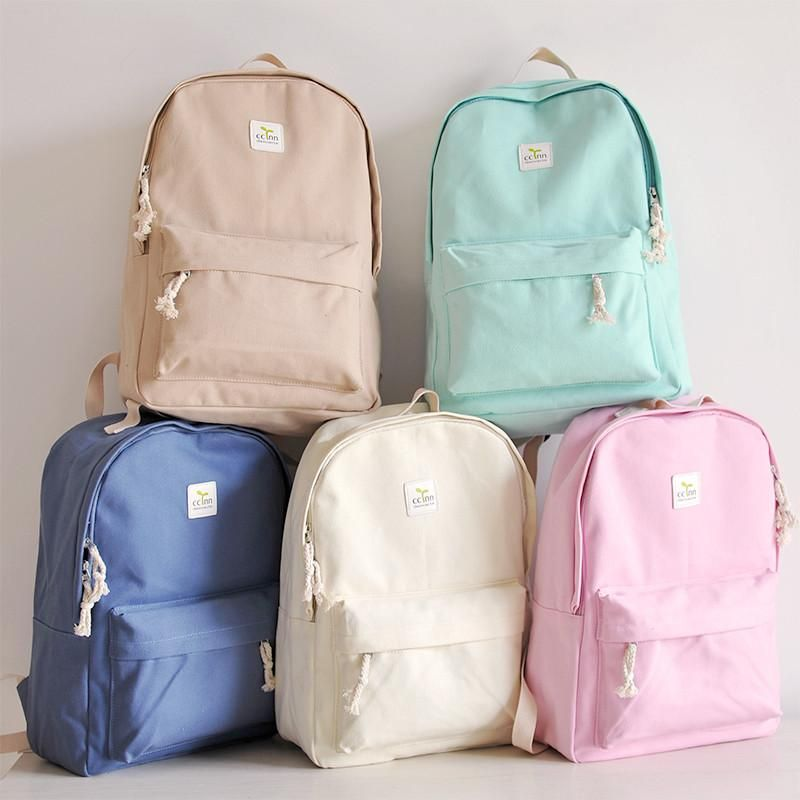 bd200eae9f2d Students Canvas Backpack SE8580 in 2019 | #backtoschool | School ...