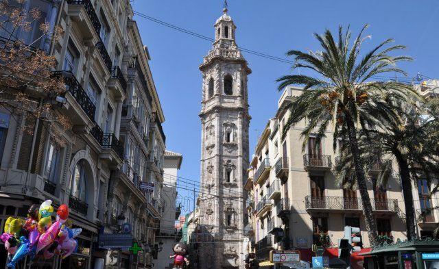 Torre de la Iglesia de Santa Catalina - Imagen de SpainCenter