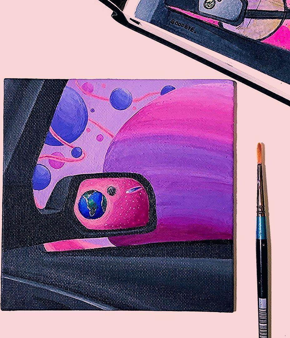 Canvas Art Mini Diy Acrylic Painting