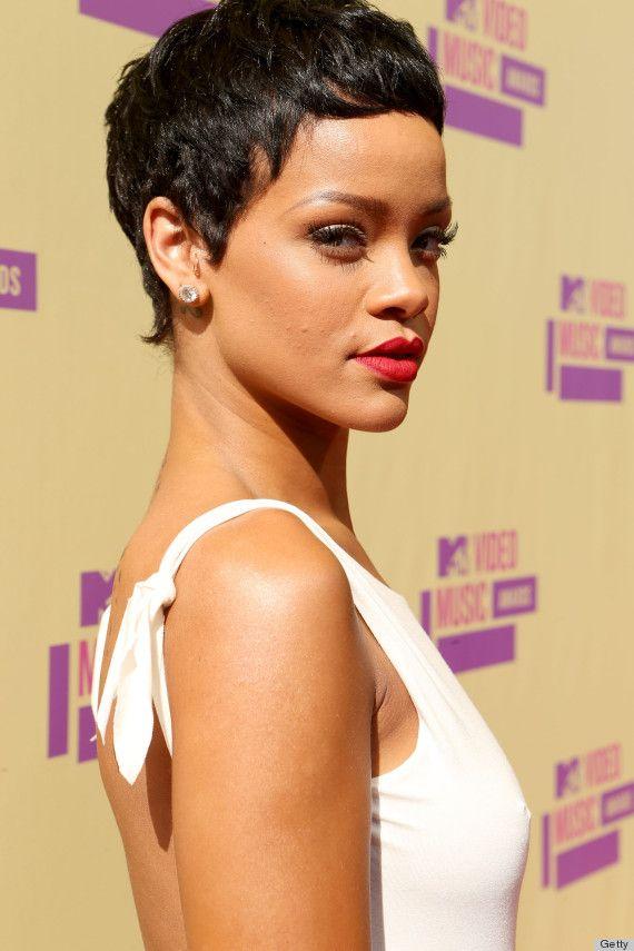 Rihannas VMA 2012 Hair Is Seriously Short