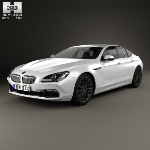 BMW 6 Series Gran Coupe (F06) 2015 By Humster3d The 3D