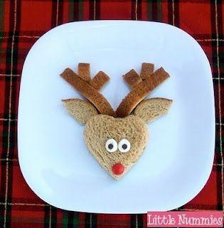 Cute Reindeer Sandwich