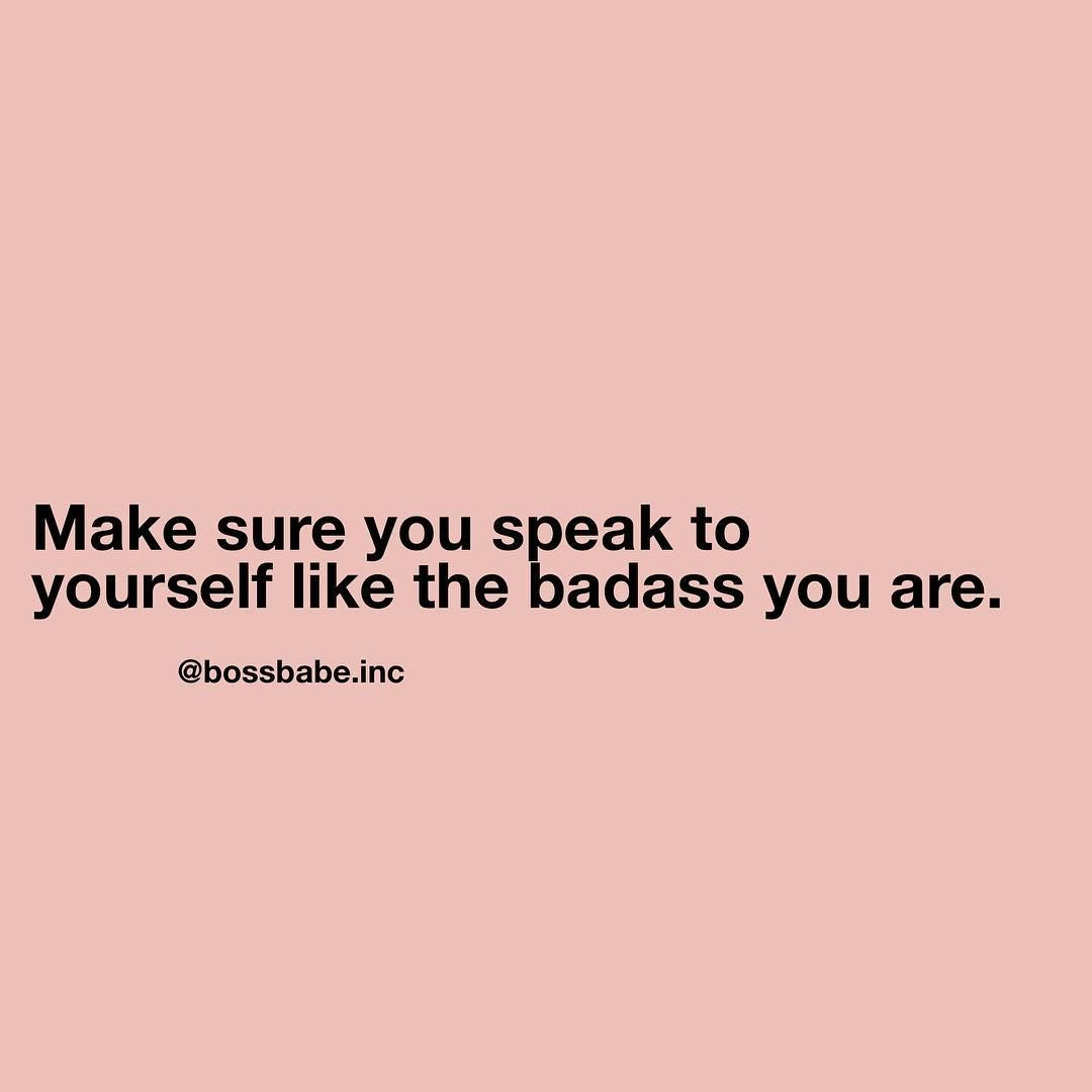 Pin Ni Shantel Louisy Sa Boss Bae Quotes Pinterest Bri Samsung Smartwatch Gear S3 Frontier Sm R760ndaaxar Black Babe On Instagram The Way You Speak To Yourself Matters