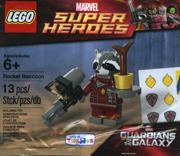 5002145: Rocket Raccoon   Lego sets I own   Pinterest   Rocket ...
