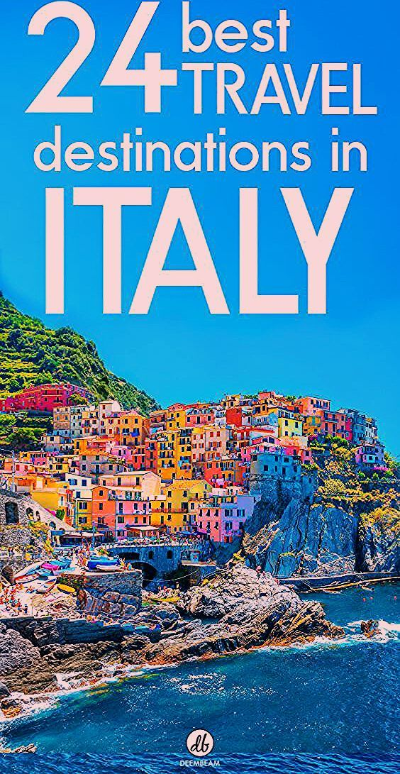 Photo of The Topmost 24 Travel Destinations In Italy