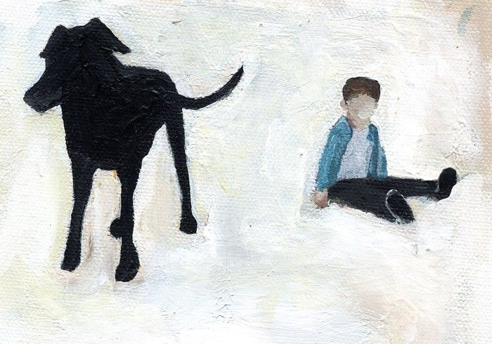 *for him* With Dog on the Hill. $10.00, via Etsy.