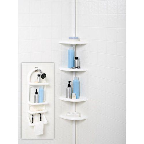 2-Piece Shower Caddy Set, White | Home Decor And Organization ...