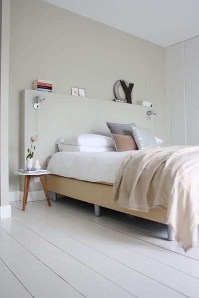 Testiera in muratura | Camera da letto, Decorazione camera ...