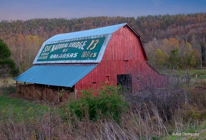 Marshall Arkansas Barn Signs Old Barns Country Barns