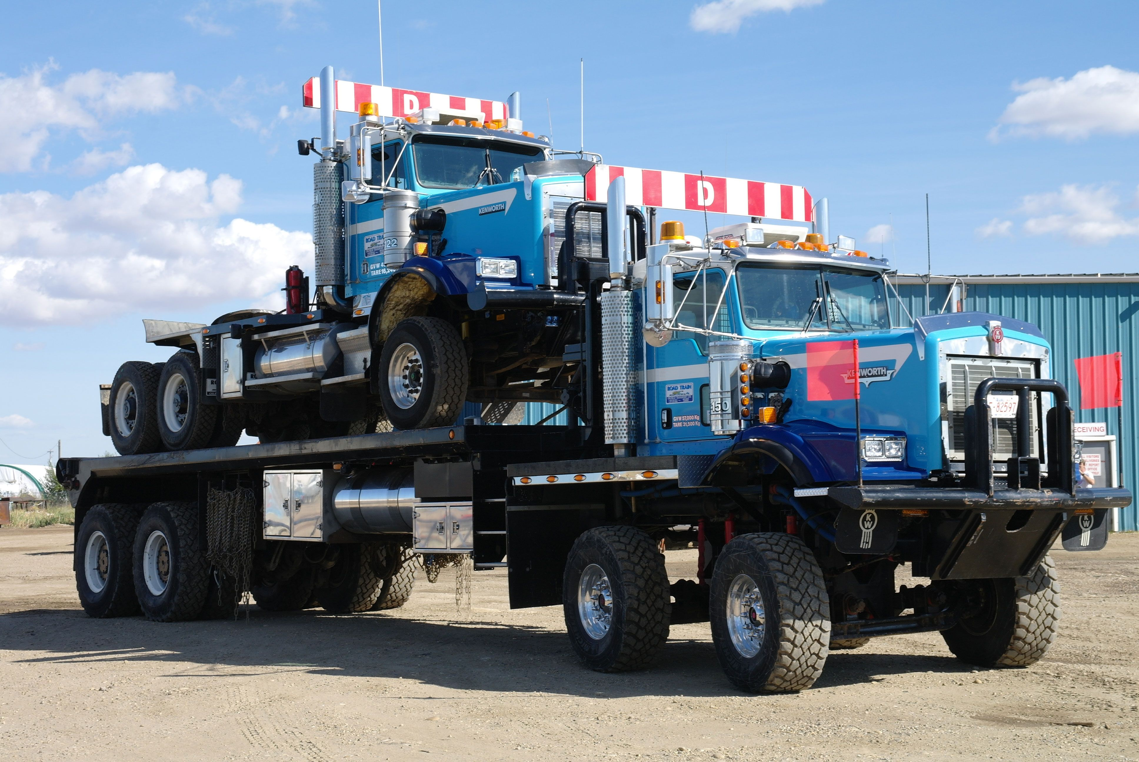 Bed Trucks Kenworth trucks, Big rig trucks