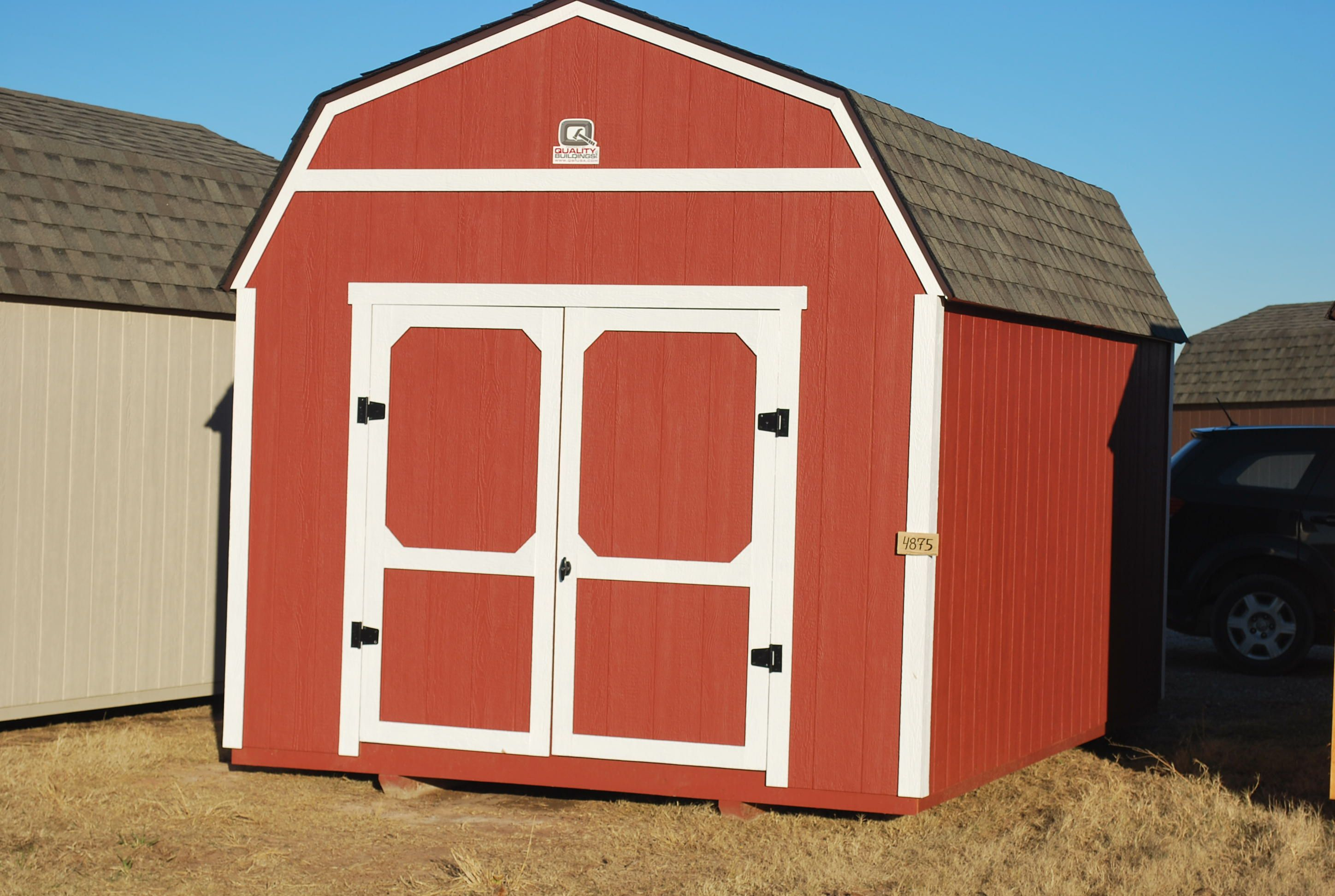 10 x 16 Lofted Classic - Painted (Red/White)