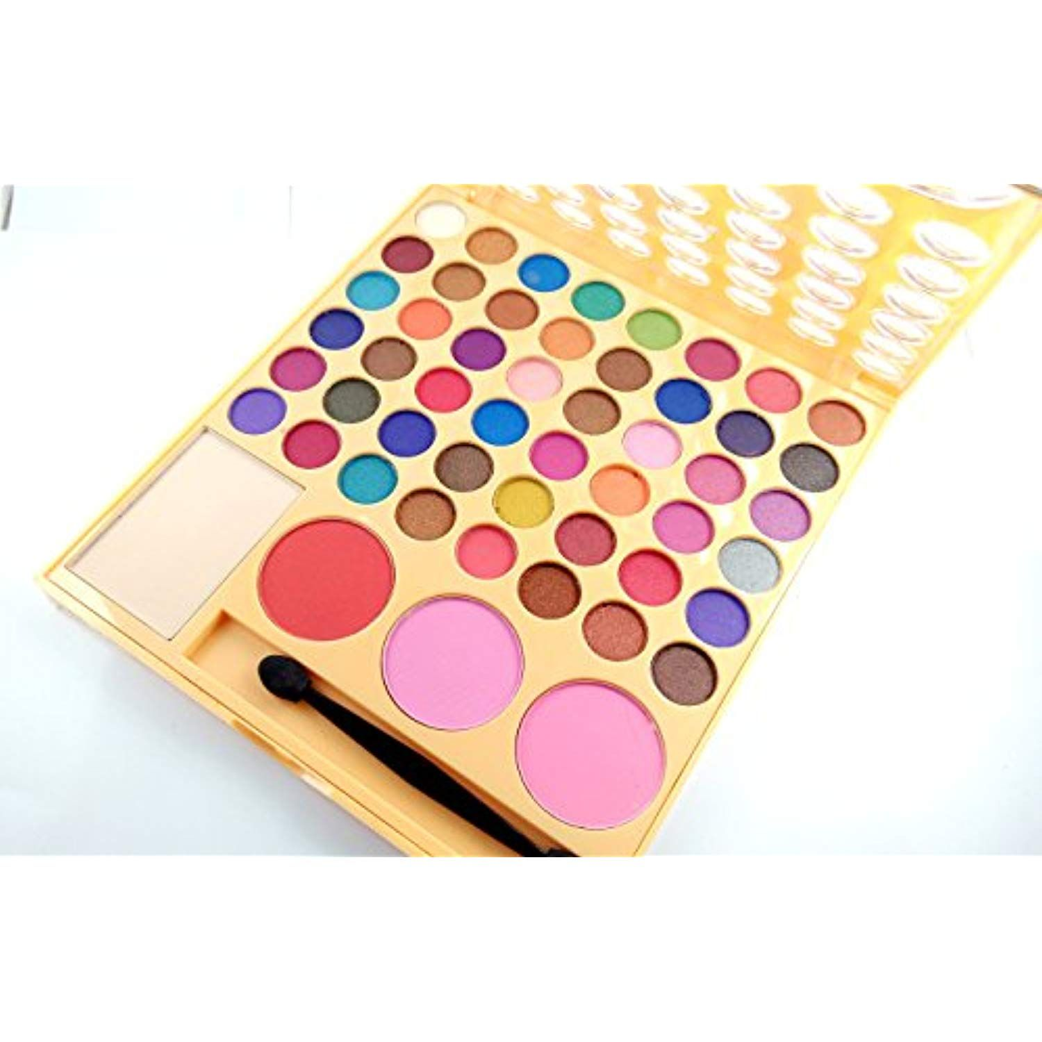 LAKME 9 TO 5 MAKEUP KIT COLORFULL DAZZLING SHINE 48 COLORS OF EYESHADOW,3 COLOR