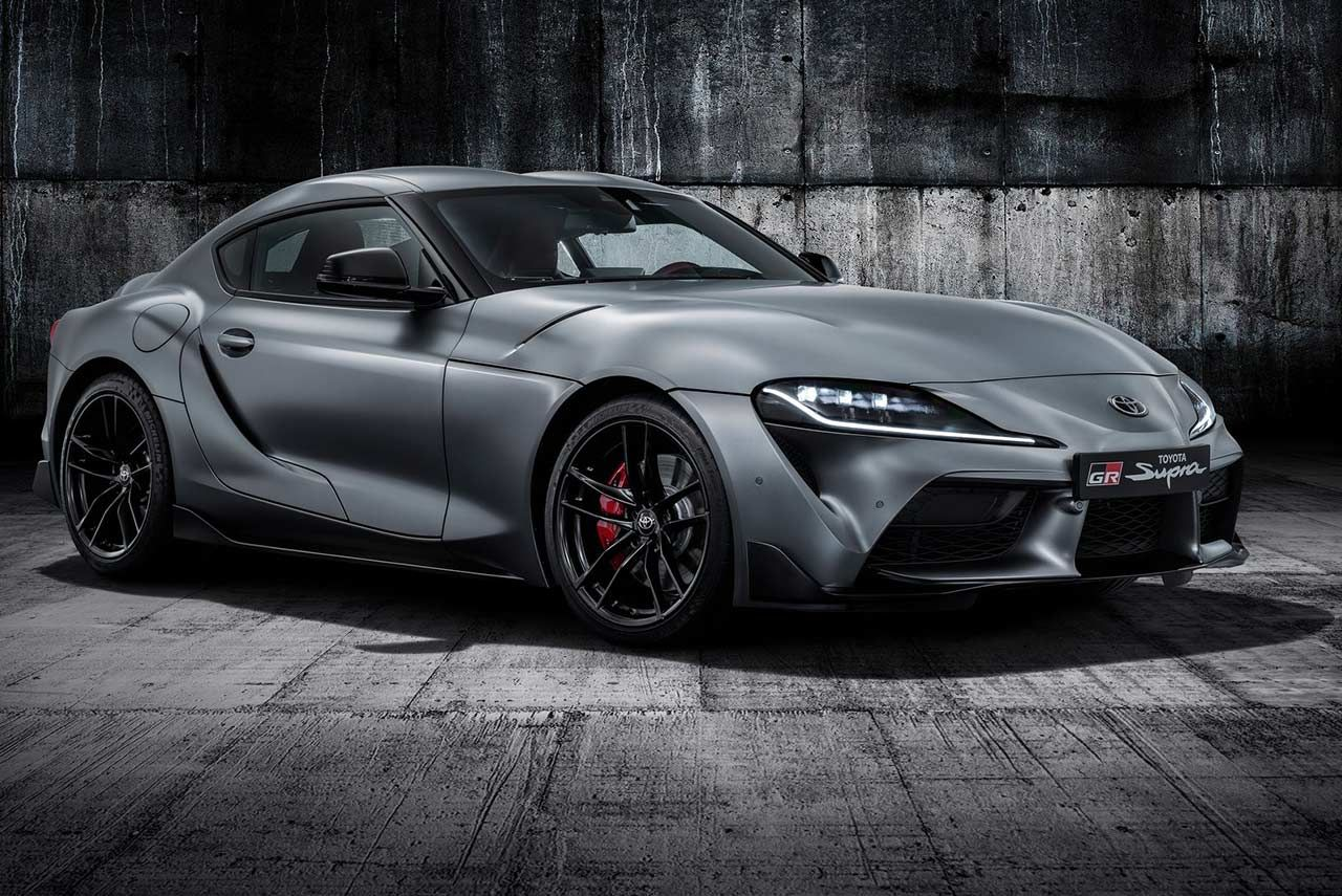 This Is It The All New 2020 Toyota Supra Has Been Officially Revealed The Sports Car Is Expected To Go On Sale In Summer Of 2019 Toyota Supra New Toyota Supra Toyota