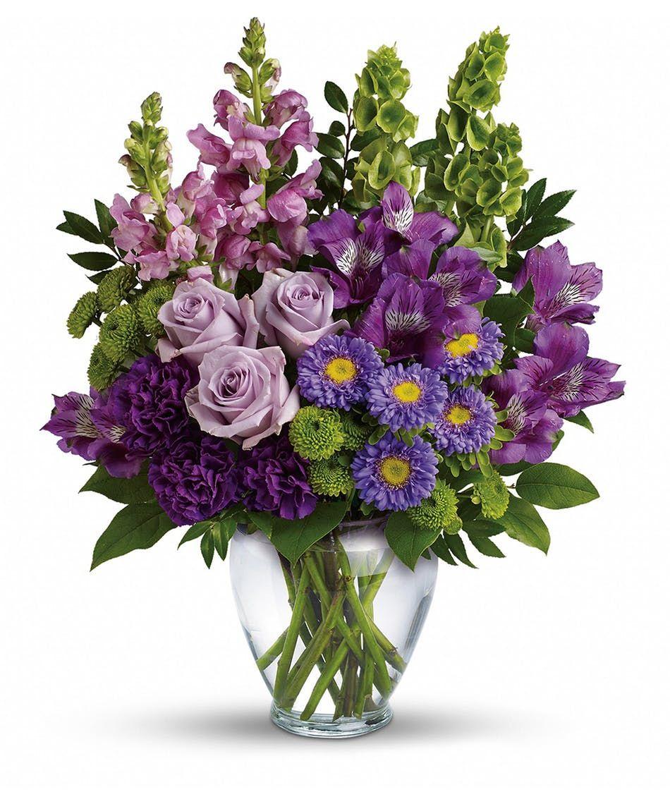 Lavender Charm Bouquet Purple Flower Arrangements Flower Arrangements Luxury Flowers