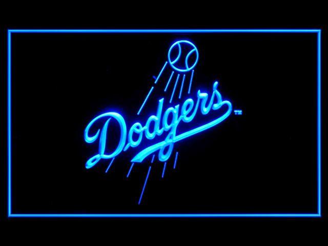 Neon Signs Los Angeles Los Angeles Dodgers Baseball Shop Neon Light Sign  Beer Bar