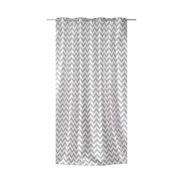 Rideau gris COLOURS Fafa - CASTORAMA   Les rideaux - DECODEUSE ...