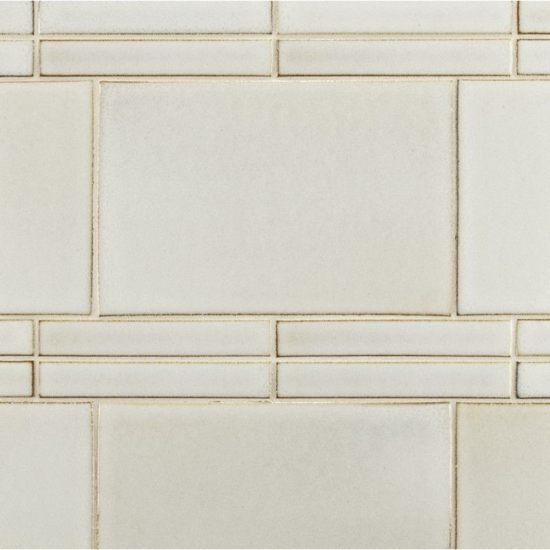 stoneware elements field tile made by