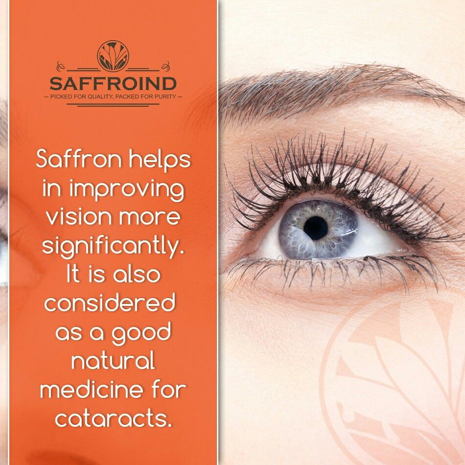 did you know? saffron helps in improving vision more