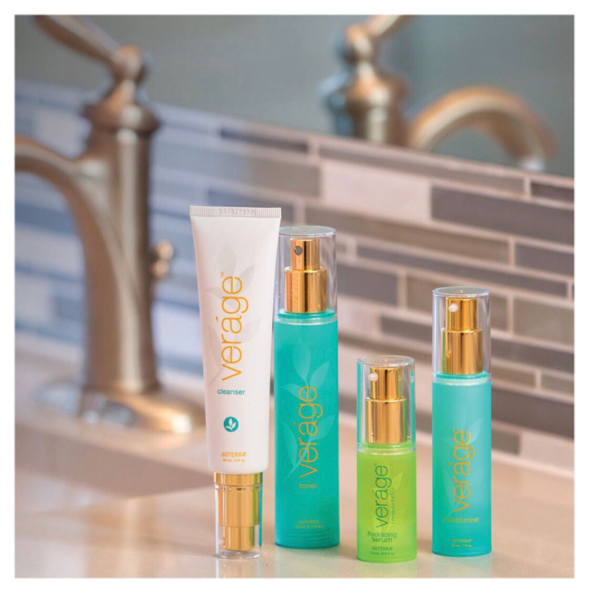 Verage Skin Care Cleanser And Toner Skin Care Collection Doterra