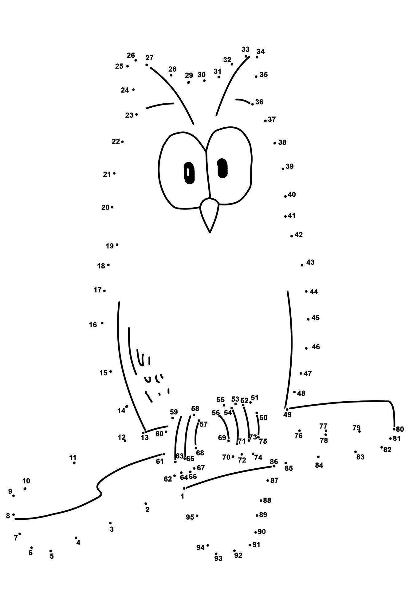 Dot to Dot Printables | Dot to dot printables, Dots free ...
