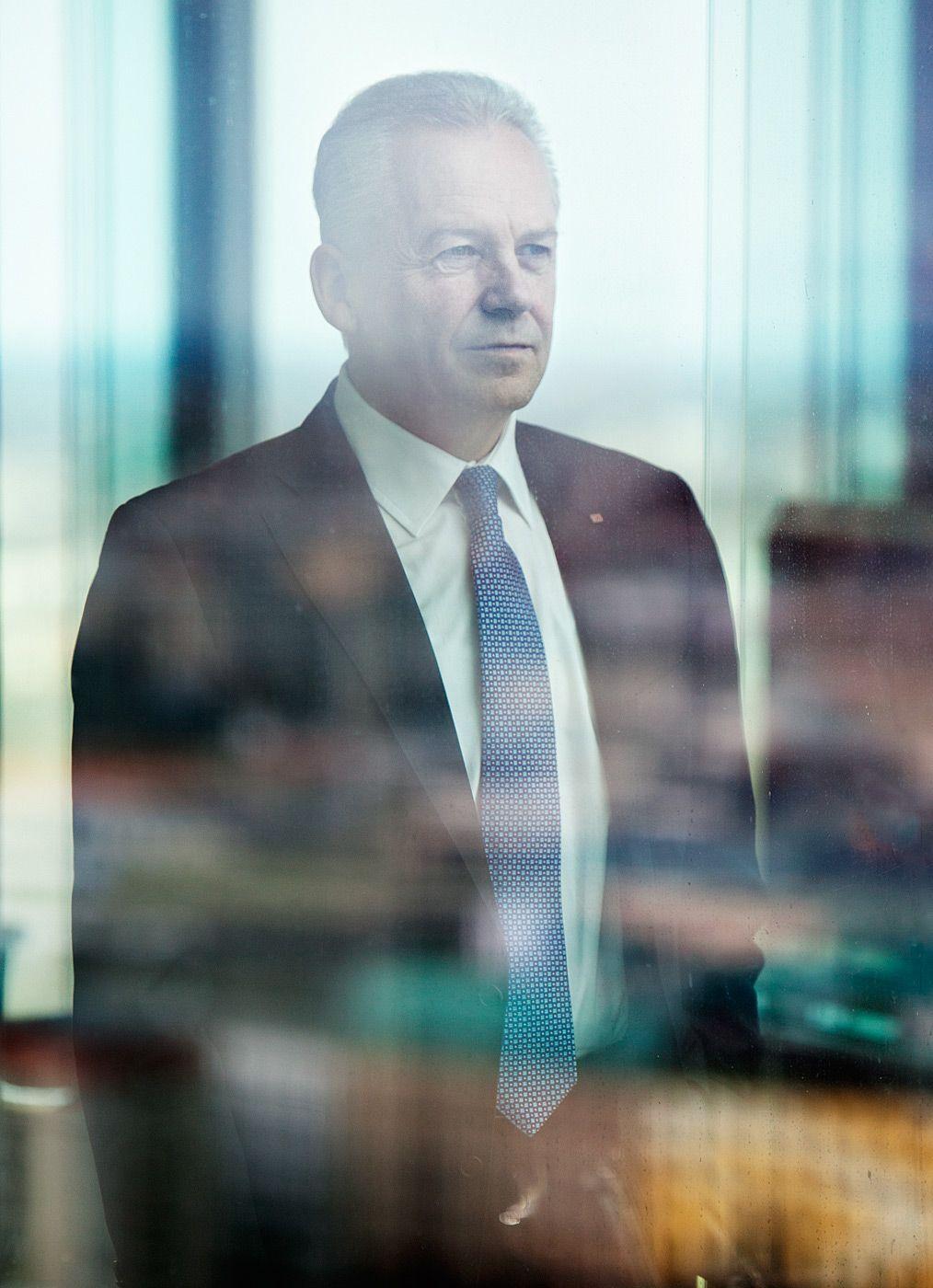 Rüdiger Grube, CEO Deutsche Bahn Business portrait