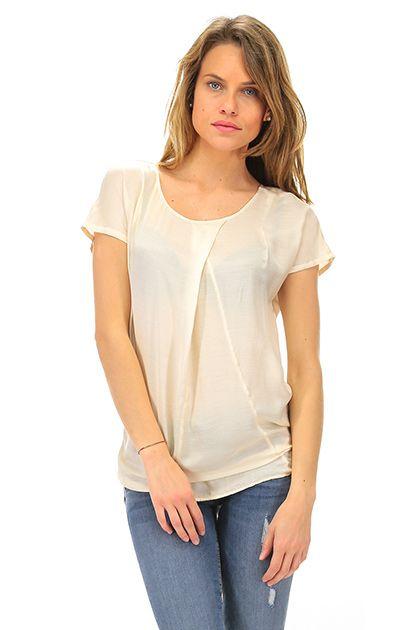 MANILA GRACE - T-Shirts - Abbigliamento - T-Shirt in viscosa e seta senza maniche.La nostra modella indossa la taglia /EU 42. - MD186 - € 99.00