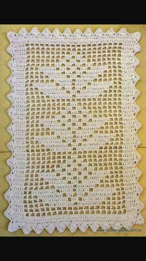Camineros | carpetas; carpetitas | Pinterest | Crochet, Filet ...