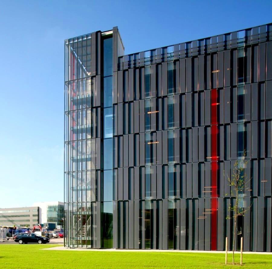 40 Most Impressive Small Office Building Design Ideas Front Building Design Building Parking Building
