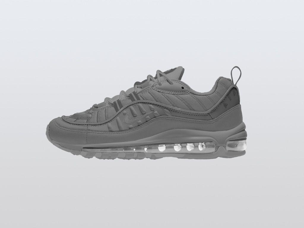 Download Nike Air Max 98 Sneaker Mockup Mockupworld