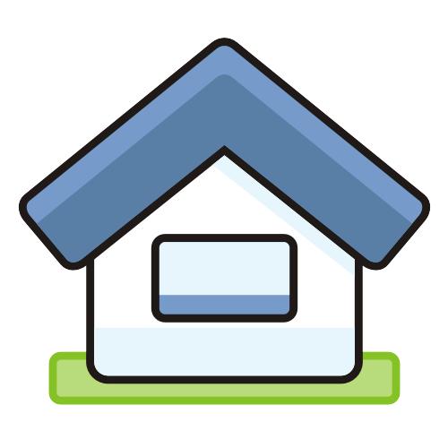 cute simplistic house icon kartun gambar rumah pinterest