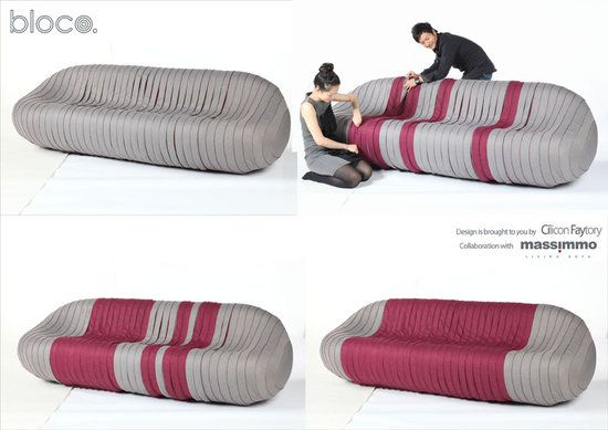 Cool sofa for a kids area