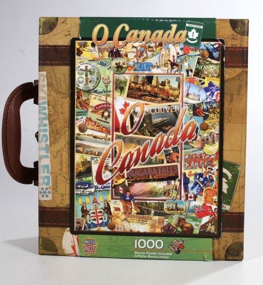 New Master Pieces Jigsaw 1000 Piece Puzzle O Canada